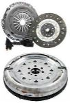 DUAL MASS FLYWHEEL DMF & COMPLETE CLUTCH KIT FORD FOCUS C-MAX 1.6 TDCI